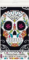 Skull Day Of The Dead Plastic Tablecover (1)